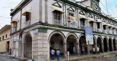 Restauración Valores Arquitectónicos Palacio Tlapacoyan
