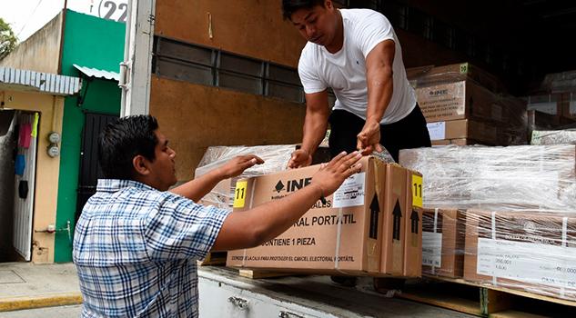 Se Entregan Más 12 Millones Boletas En 30 Consejos Distritales Consejera