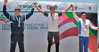 Suma Veracruz Cuatro Preseas Canotaje Olimpiada Nacional