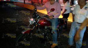 Taxi Impacta Motociclista Destroza Pie Derecho