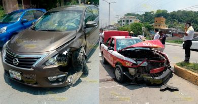 Taxi Particular Protagonizan Fuerte Accidente