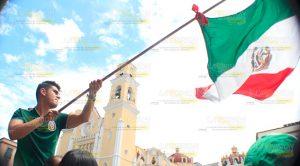 Xalapa Veracruz México Triúnfo Mundial Rusia 2018
