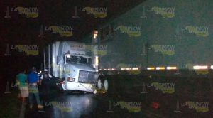 Aparatoso Accidente Entre Tres Tráilers Sobre Tuxpan Tampico