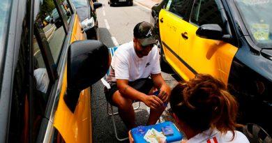 Arrecia España Protestas Vs Uber