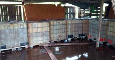 Asegura PGR 6 Mil Litros Hidrocarburo Ilegal Veracruz