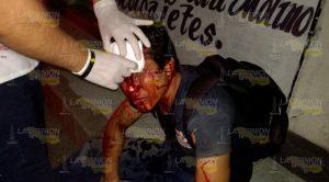 Atracan Apuñalan Obrero Tuxpan