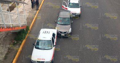 Carambola frente al IMSS 24 de Poza Rica