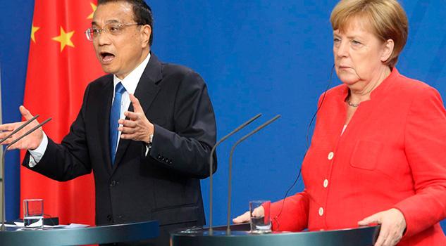 China Alemania Defienden Libre Comercio Frente Proteccionismo Trump