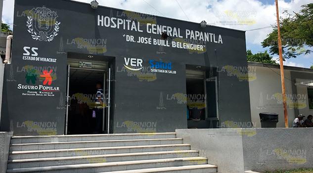 Continúan Trabajos Hospital Civil Papantla