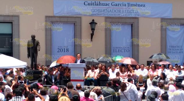 Cuitláhuac Ofrece Austeridad Respeto Veracruz