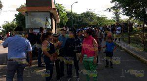 Desalojan Familias Villas Xalapa