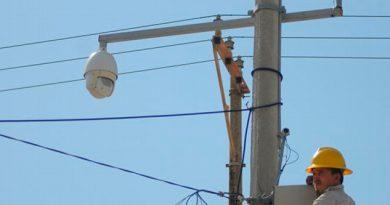 En agosto, más de 6 mil 500 cámaras de videovigilancia en Veracruz