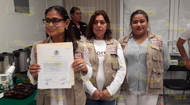 Entregan Constancia Mayoría Raquel Bonilla Herrera