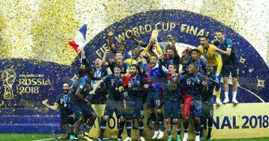 Francia Camepón Mundo Rusia 2018