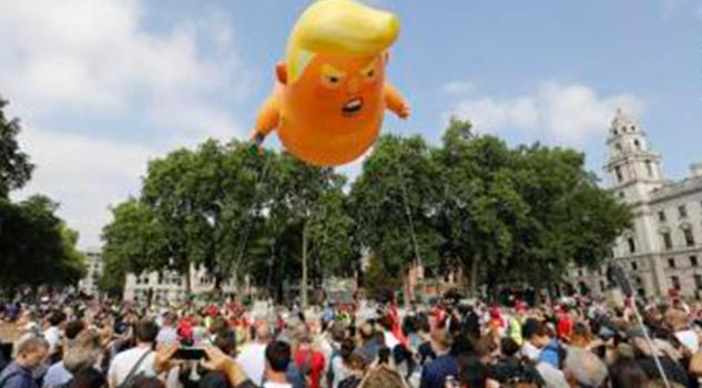 Marcha Masiva Londres Crítica Donald Trump