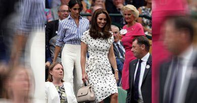 Meghan Kate Asisten Wimbledon