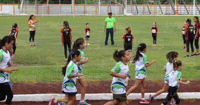 Niños Jóvenes Tihuatlán Participan Festival Atletismo