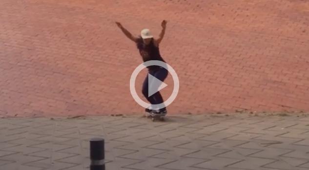 OUCH Que Golpazo Se Llevó Esta Chica Skater