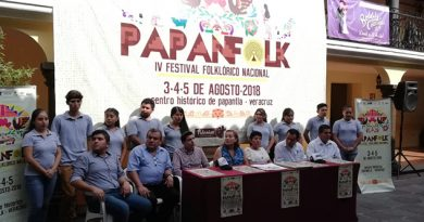 Papantla, sede de festival folklórico nacional