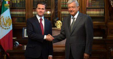 Peña Nieto Ofrece Transición Ordenada Eficiente AMLO