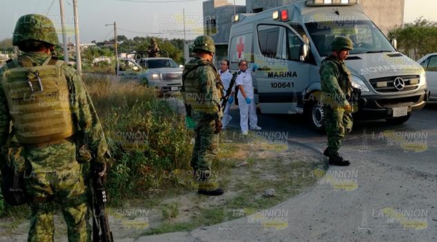 Policías vs. Delincuentes en Tuxpan