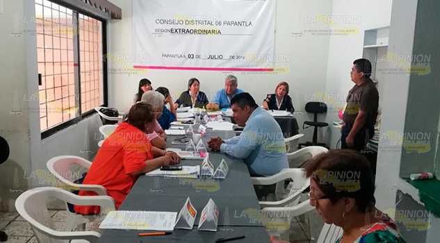 Presentan Reporte Incidentes OPLE Papantla
