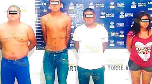 Prisión 4 Probables Secuestradores