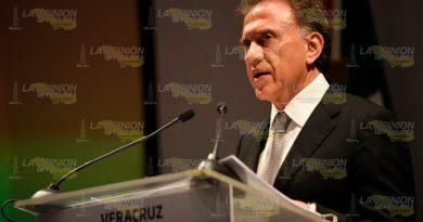 Recortaron Participaciones Afirma Gobernador Veracruz