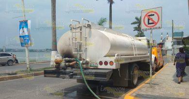 Restablecen Servicio Agua Potable Tuxpan