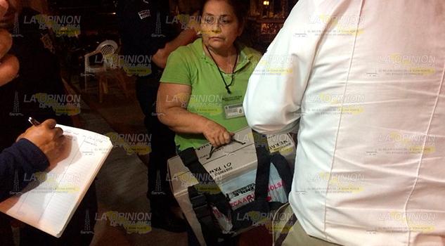 Roban Paquetes Electorales Pánuco