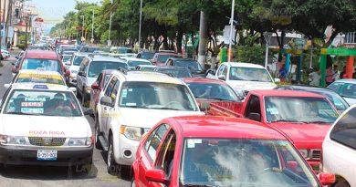Solo 15 Tránsitos 100 mil Autos Poza Rica