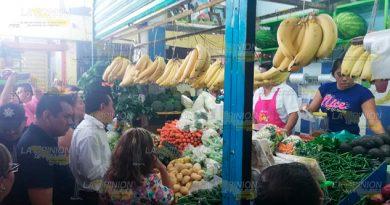 Supervisan Condiciones Mercado Hidalgo Papantla