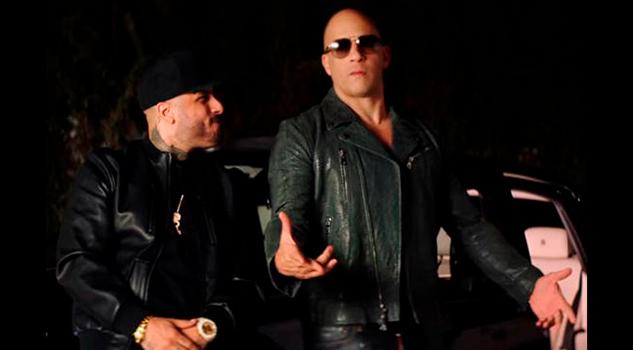 Vin Diesel Celebra Cumpleaños Nicky Jam
