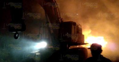 Habitantes de Barra de Corazones se deslindan del incendio