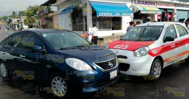 Accidente Vehicular Entre Taxista Particular Tuxpan