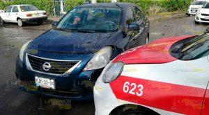 Accidente Vehicular Entre Taxista Particular Tuxpan