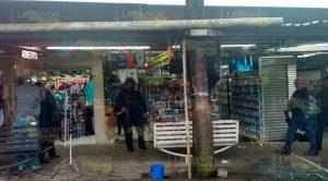Acribillan Sujeto Mercado Xalapa
