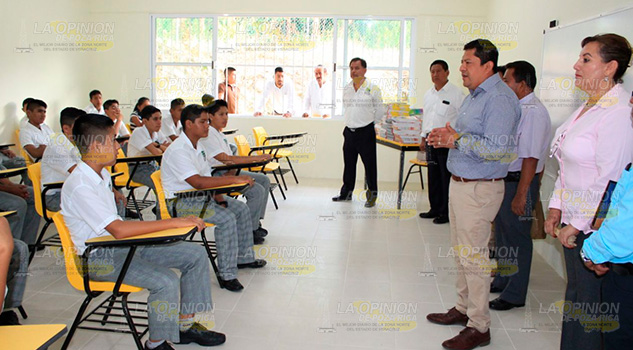 Alcalde Papantla Inaugura Ciclo Escolar 2018 2019
