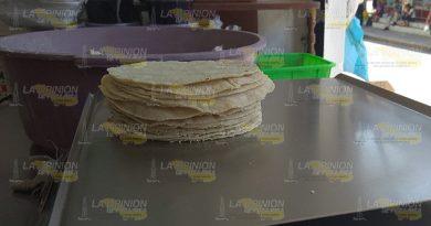 Alertan Tuxpan Por Alza Kilo Tortilla