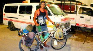 Argentino Recorre País Bicicleta
