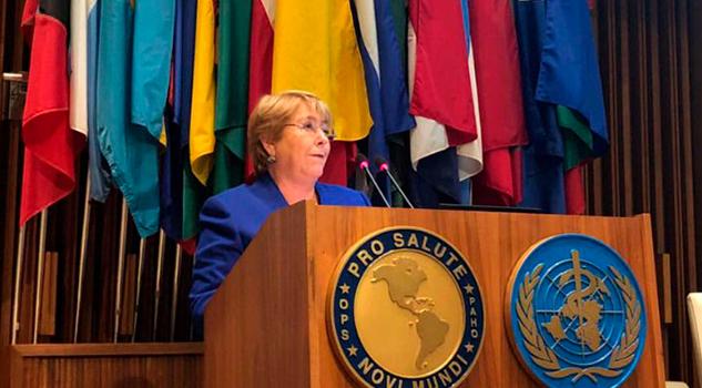 Bachelet Despide Chilenos Asumirá Cargo En ONU