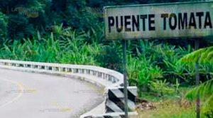 Camión Cae Río Debajo Puente Tomata Tlapacoyan