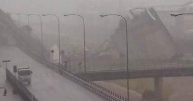 Colapsa Puente Italia Tras Violenta Tormenta