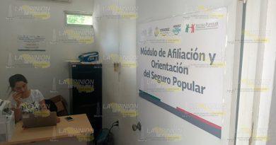 Continúa Afiliación Seguro Popular Tihuatlán