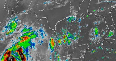 Continuarán Condiciones Lluvias Tormentas Veracruz