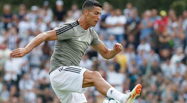 Cristiano Ronaldo Estrena Como Goleador Juventus