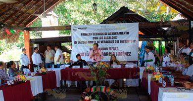 Cuitláhuac Reúne Alcaldes Zona Norte