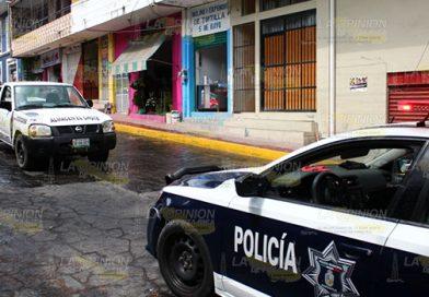 Empistolados roban en DICONSA de Papantla