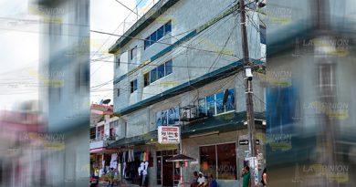 Edificio Céntrico Tlapacoyan Peligro