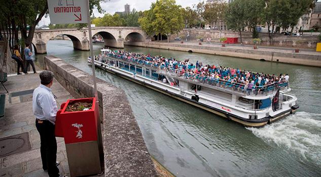 El Urinario Discordia Francia Vista Sena